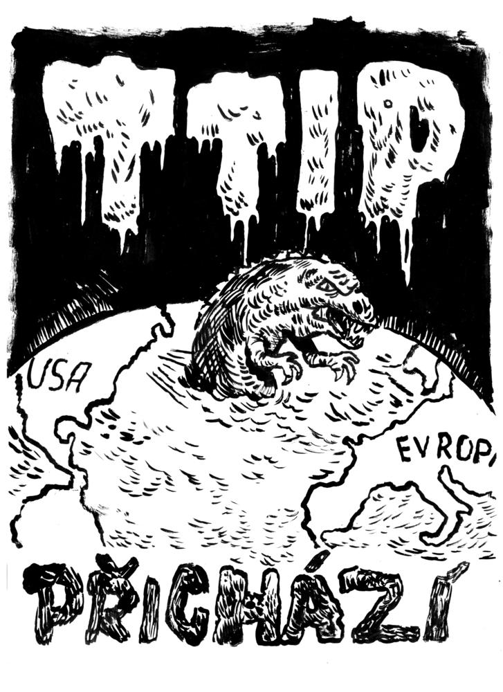 Ilustrace TTIP