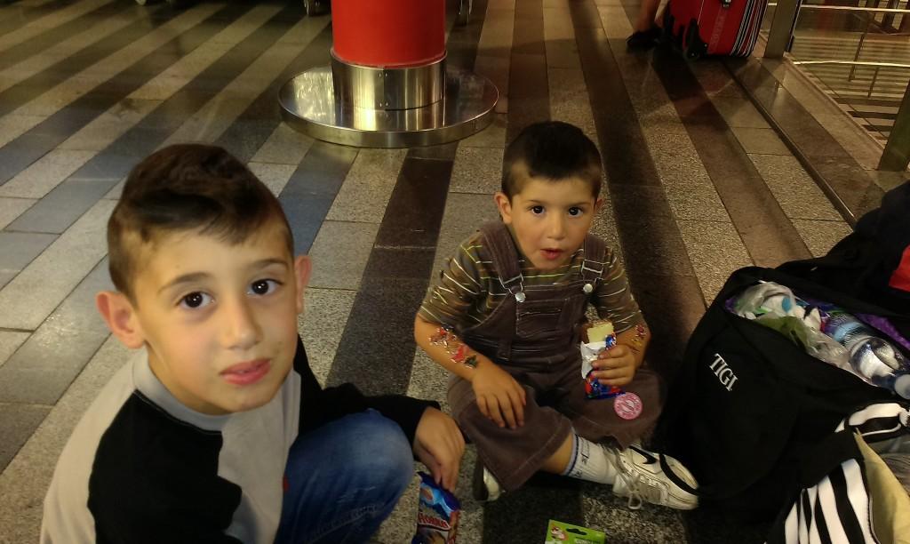 6_Syrské děti na Hlavním nádraží