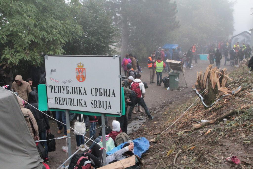 Území nikoho mezi Srbskem a Chorvatskem, působiště českých dobrovolníků